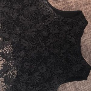 Tops - Black top with lace